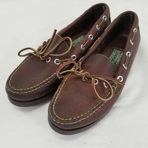 Ralph Lauren Country Dry Goods Boat Shoes 6.5